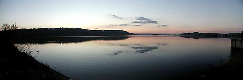sunset-by-lake