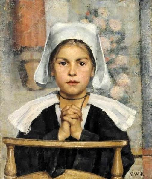 at-the-church - Maria Wiik