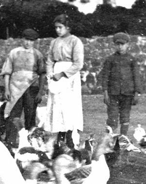 presunta foto di Maria Goretti del 1902